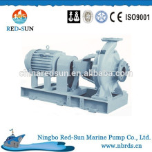 Horizontal single stage single suction pump with common base
